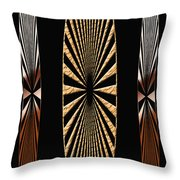 Digital Art Design Throw Pillow