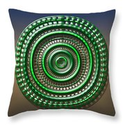 Digital Art Dial 3 Throw Pillow