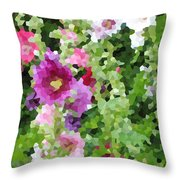 Digital Artwork 1391 Throw Pillow