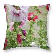 Digital Artwork 1393 Throw Pillow