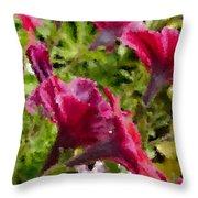 Digital Artwork 1408 Throw Pillow