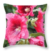 Digital Artwork 1409 Throw Pillow