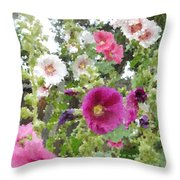 Digital Artwork 1424 Throw Pillow