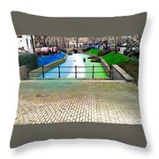 Digital Artwork In A Typical Dutch Style Throw Pillow