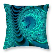 Digital Physics Throw Pillow