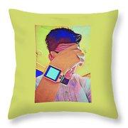 Digital Throw Pillow