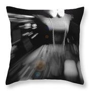 Digital Visualization Of A Female Mystic Throw Pillow