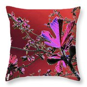Figtree Leaves 3 Throw Pillow