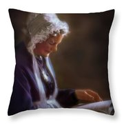 Dignity Of Age Throw Pillow