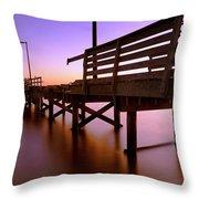 Dilapidated - Biloxi - Mississippi Throw Pillow