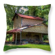 Dilapidated Building One Throw Pillow