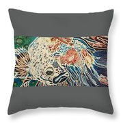 Diluted Betta Throw Pillow
