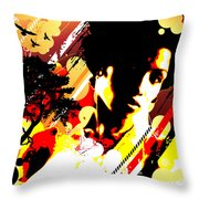 Dim Sunrise Throw Pillow