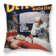 Dime Novel 1933 Throw Pillow