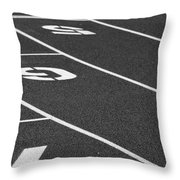 Dimensional Curve Throw Pillow