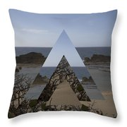Dimensional Rift. Throw Pillow