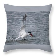 Dine And Dash Throw Pillow