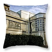 Diner Reflections Throw Pillow
