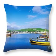 Dingle, Dingle Peninsula, Co Kerry Throw Pillow
