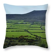 Dingle Peninsula Panorama Ireland Throw Pillow