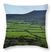 Dingle Peninsula Panorama Ireland Throw Pillow