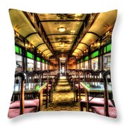 Dining In Style Throw Pillow