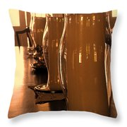 Dining Room Candles Throw Pillow