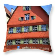 Dinkelsbuhl 2 Throw Pillow