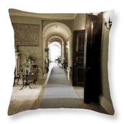 Dinner Is Serve4d Throw Pillow