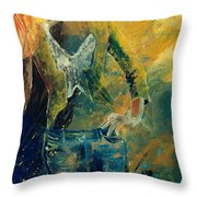 Dinner Jacket Throw Pillow by Pol Ledent