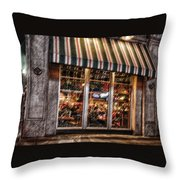 Dinner Time Throw Pillow by Barry C Donovan