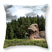 Dino Land Of The Lost Throw Pillow