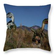 Dinosaur 10 Throw Pillow
