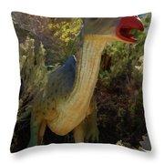 Dinosaur 11 Throw Pillow