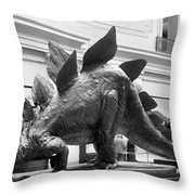 Dinosaur Exhibit, 1917 Throw Pillow
