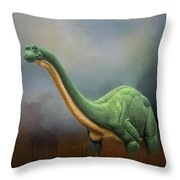 Dinosaur Valley State Park Throw Pillow