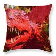 Dinosaurs 8 Throw Pillow