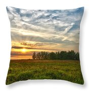 Dintelse Gorzen Sunset Throw Pillow