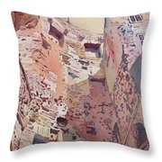 Diocletian Courtyard Throw Pillow