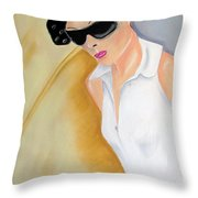 Dior..2 Throw Pillow