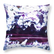 Direct Line Throw Pillow