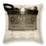 Directions In Deco Throw Pillow