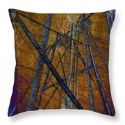Directions In The Sky Throw Pillow