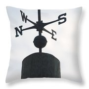 Directions Throw Pillow