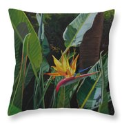 Dirty Birdie Throw Pillow
