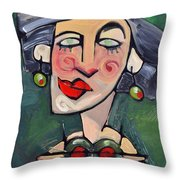 Dirty With Two Olives Throw Pillow