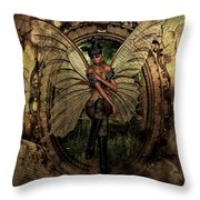 Disappointed Fairy 2 Throw Pillow