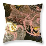 Disaster In The Making Throw Pillow