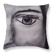 Disbelief Throw Pillow