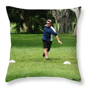 Disc 1 Throw Pillow